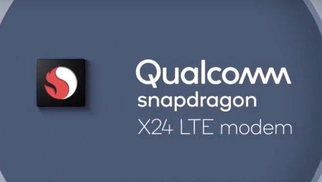 Модем Qualcomm Snapdragon X24 обеспечит LTE со скоростью 2 Гбит/с