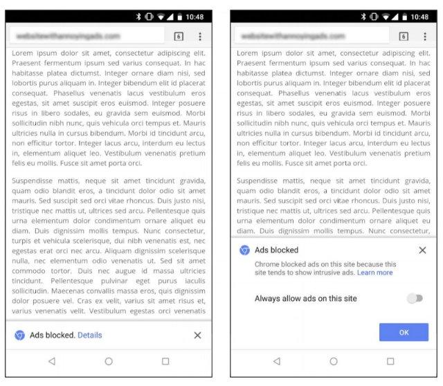 Google объясняет, как будет работать фильтр рекламы Chrome