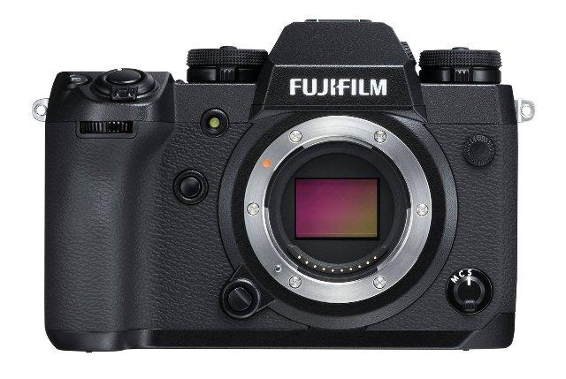 Fujifilm выпускает новый флагманский фотоаппарат X-H1