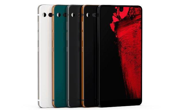 Телефон PH-1 Essential приобретает новые цвета с ограниченным тиражом