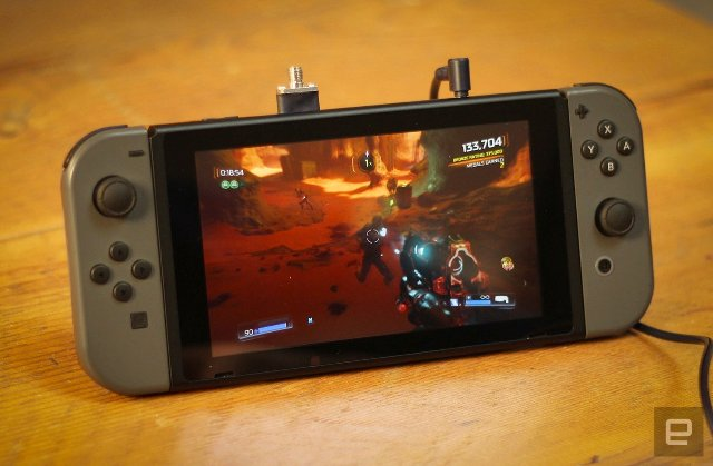 Играйте в «Doom» с элементами управления движением на Nintendo Switch
