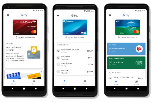 Google Pay - новый Android Pay