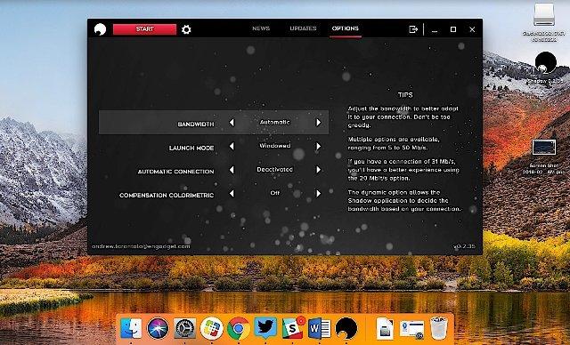 Сервис Shadow виртуализирует игровой ПК высокого класса