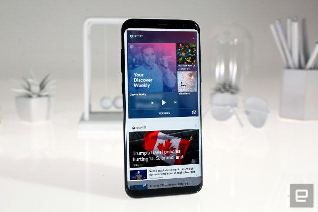 Samsung возобновляет обновление Android O для Galaxy S8