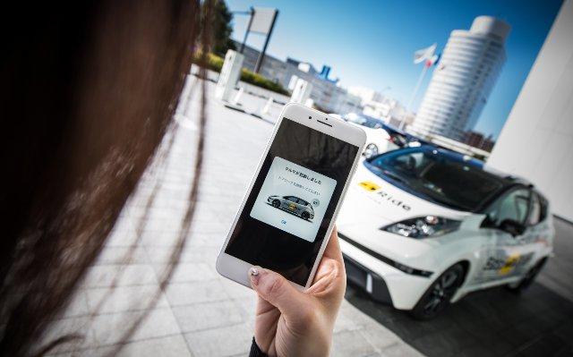 Самоходное такси Nissan готово для пассажиров