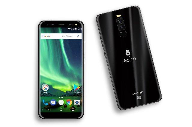 Британский технический бренд Acorn выпускает ребрендированный телефон