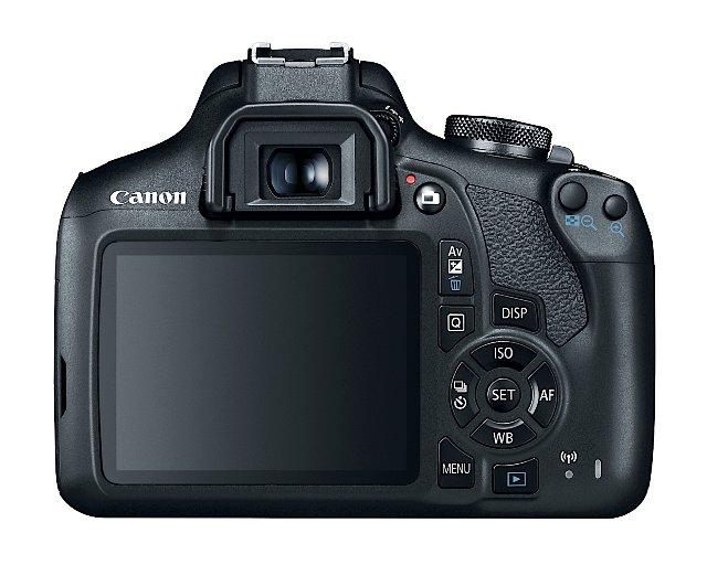 Canon Rebel T7 DSLR начального уровня предназначен для пользователей социальных сетей