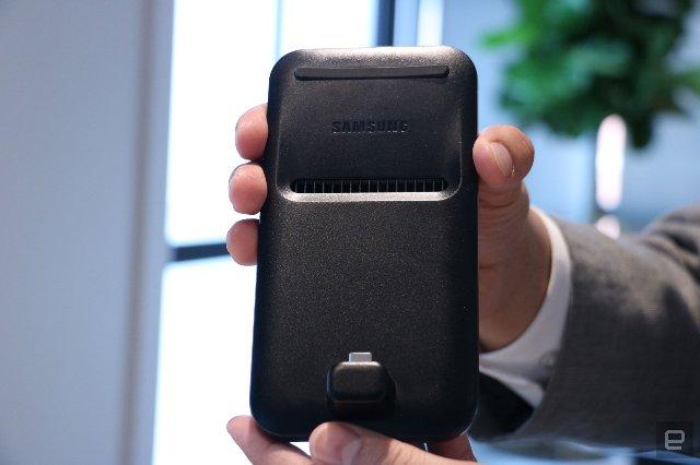 Обновленный Samsung DeX использует S9 в качестве трекпада
