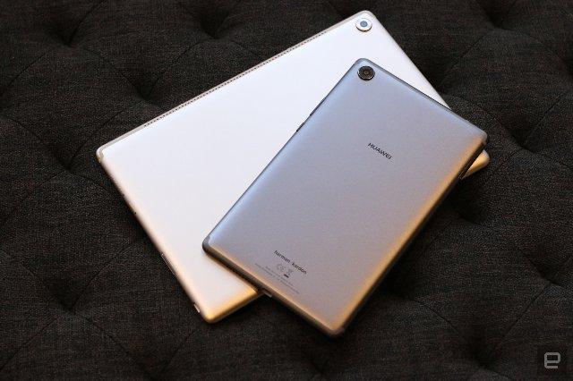 MediaPad M5 от Huawei - первый планшет с изогнутым стеклянным экраном