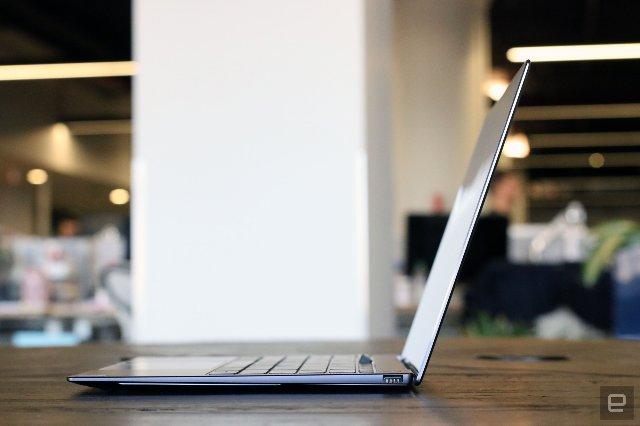 Huawei MateBook X Pro помещает веб-камеру в клавиатуру
