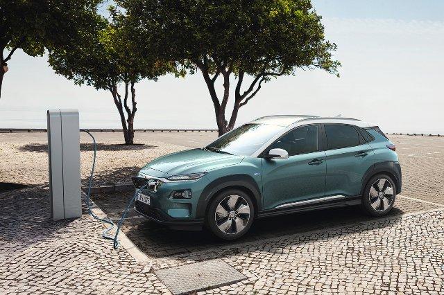 Hyundai Kona Electric SUV может похвастаться 470-километровым диапазоном