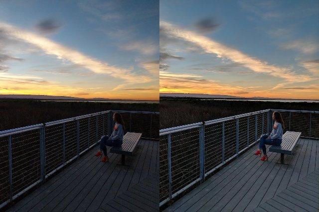 Google добавляет функцию HDR + Pixel 2 для фото-приложений