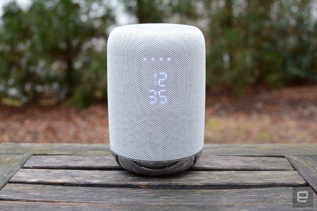 Умный динамик от Sony LF-S50G - прочная альтернатива Google Home