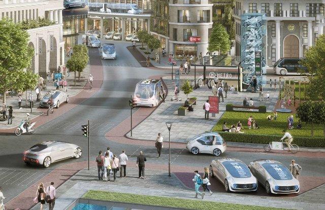 Mercedes и Bosch представят автономные такси в течение нескольких месяцев