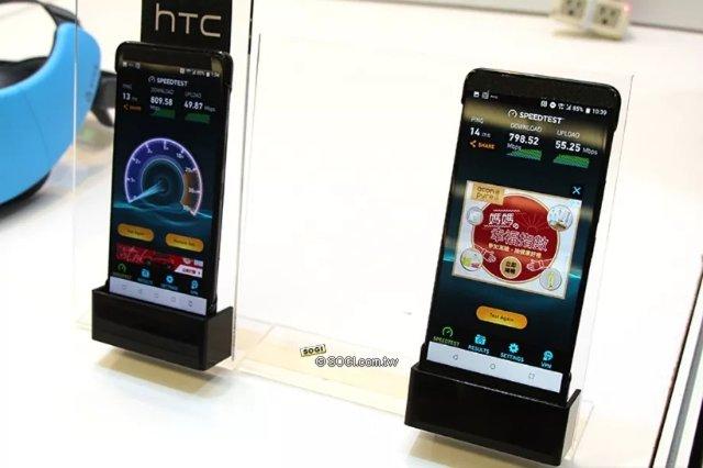 HTC демонстрирует то, что выглядит как U12 с гигабитным LTE