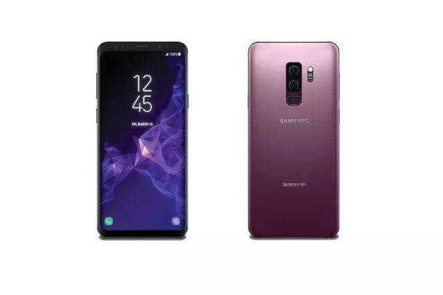 Утечка изображений Galaxy S9 демонстрирует переработанный считыватель отпечатков пальцев и сиреневый цвет