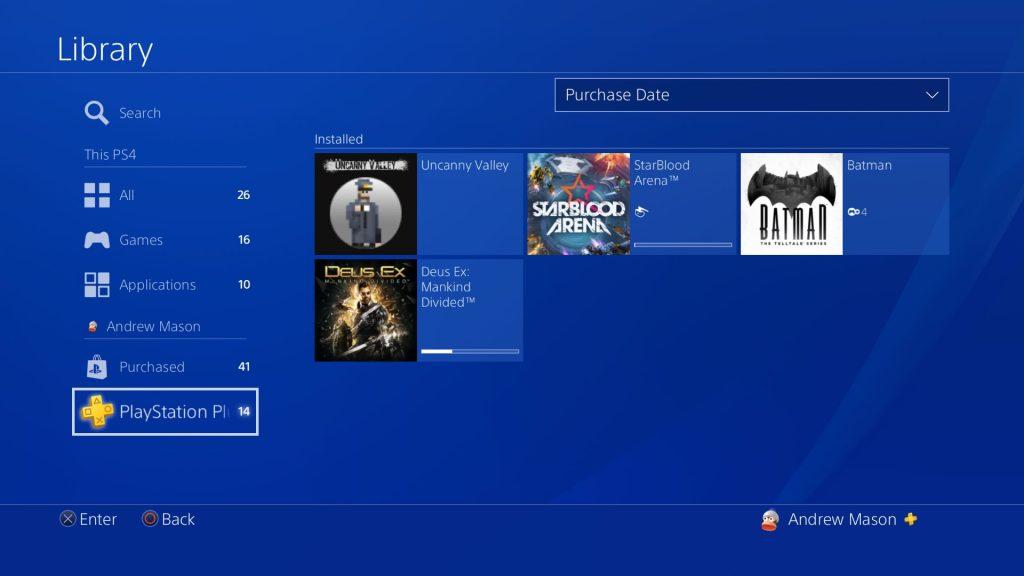 PS4 5.50: управление временем, суперсемплинг для PS4 Pro и другие фишки