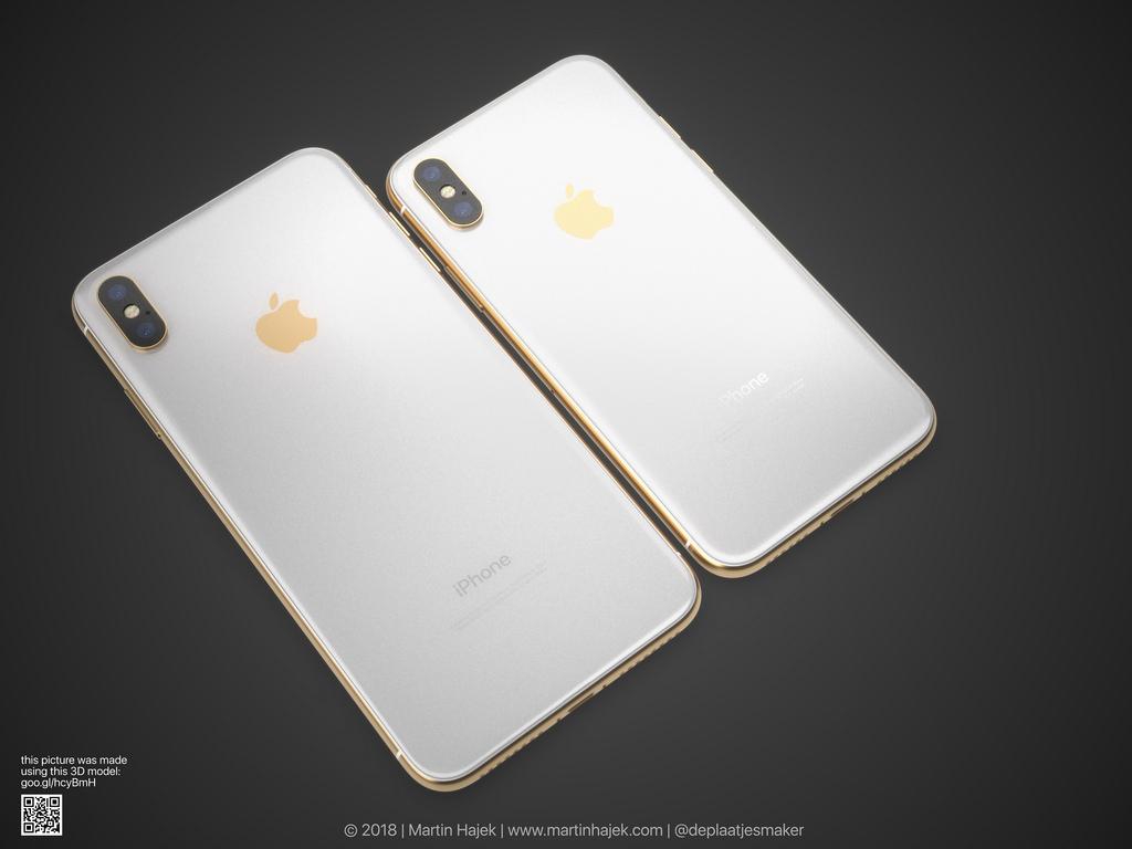 Слух: Apple готовит золотой цвет для новых iPhone