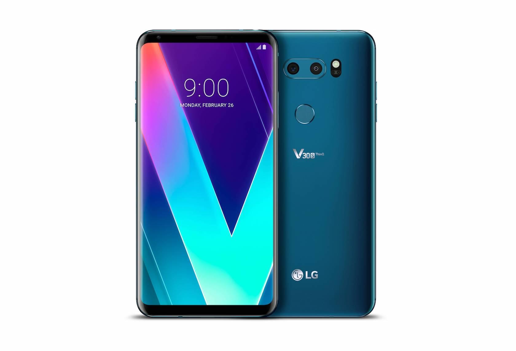MWC 2018: LG показала V30S и V30S+
