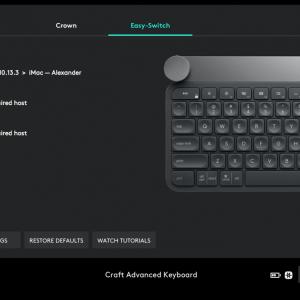 Обзор клавиатуры Logitech Craft: кручу-верчу, в фотошопе мучу