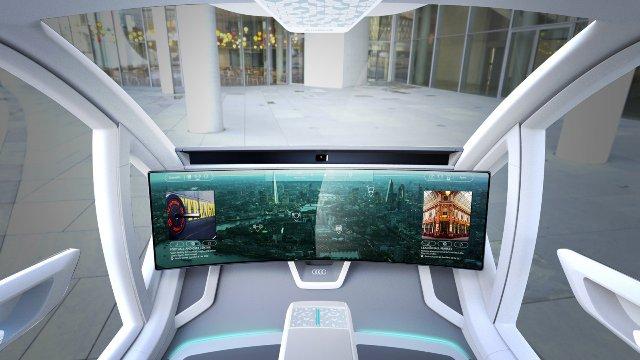 Audi предоставляет концепцию летного такси Airbus