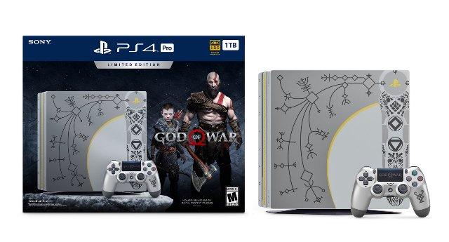 Новый комплект PS4 Pro от Sony посвящен игре «God of War»