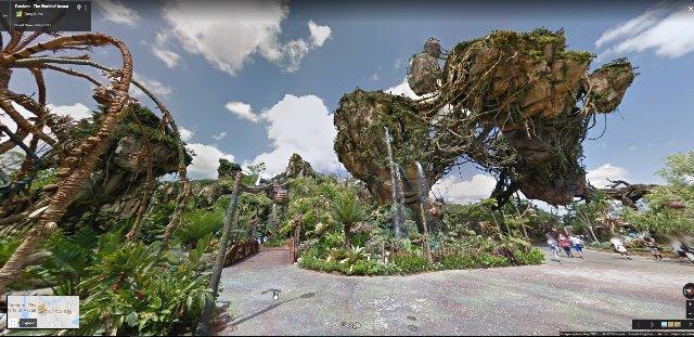 Google добавляет Парки Disney в Street View