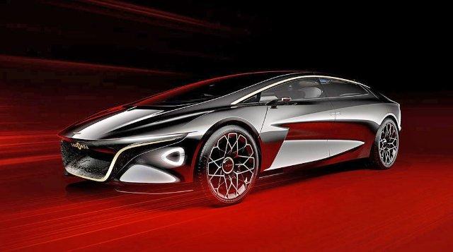 Роскошный концептуальный электрокар Aston Martin будет поставляться с консьержем