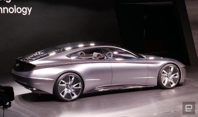 Концепция Hyundai Le Fil Rouge - будущее дизайна автопроизводителя