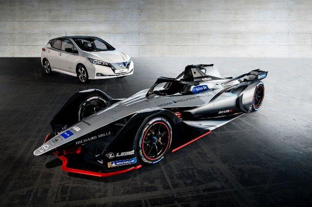 Дебютный дизайн Nissan Formula E вдохновлен эффектом Доплера