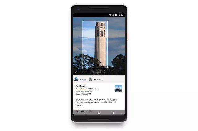 Google Lens приходит на все телефоны Android под управлением Google Фото