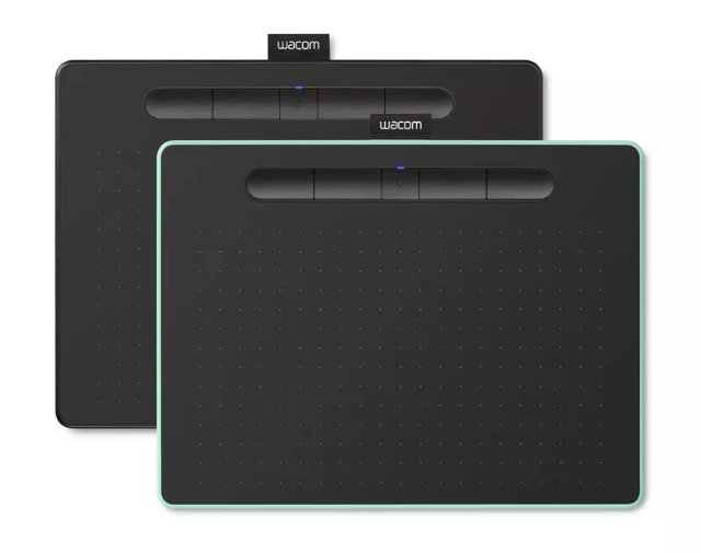 Новые планшеты Intuos от Wacom идеально подходят для начинающих художников