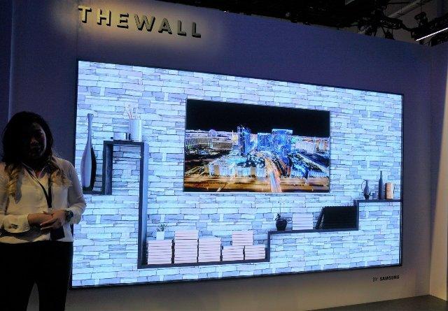 В августе массивный телевизор Samsung The Wall появится в продаже