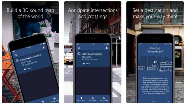 Технология навигации Microsoft для слепых теперь является приложением