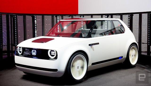 Предварительные заказы Honda Urban EV начинаются в начале 2019 года