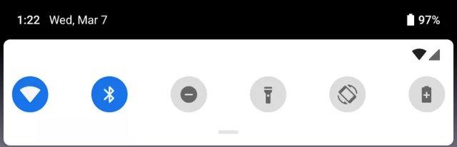 Самые большие ранние визуальные изменения в Android P