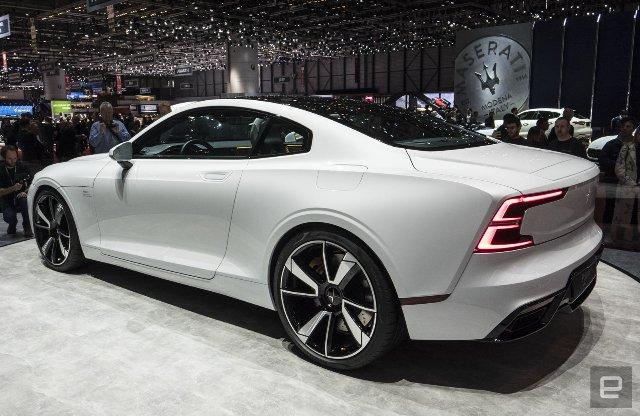 В Женеве стартовал гибридный электромобиль от Volvo