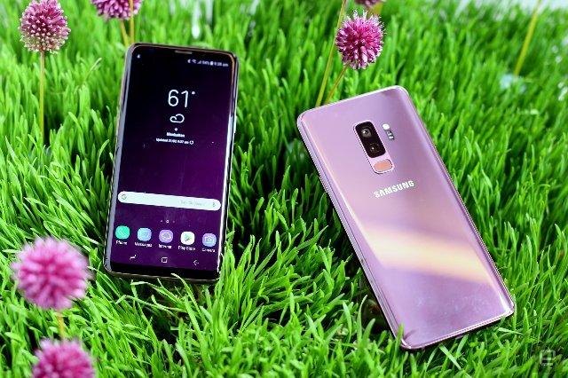 Microsoft продает настроенные телефоны Samsung Galaxy S9