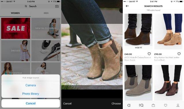 Инструмент визуального поиска ASOS теперь доступен для всех ее покупателей