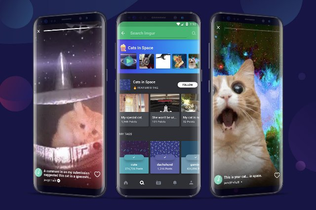 Коллекции GIF в стиле Историй от Imgur появятся на Android
