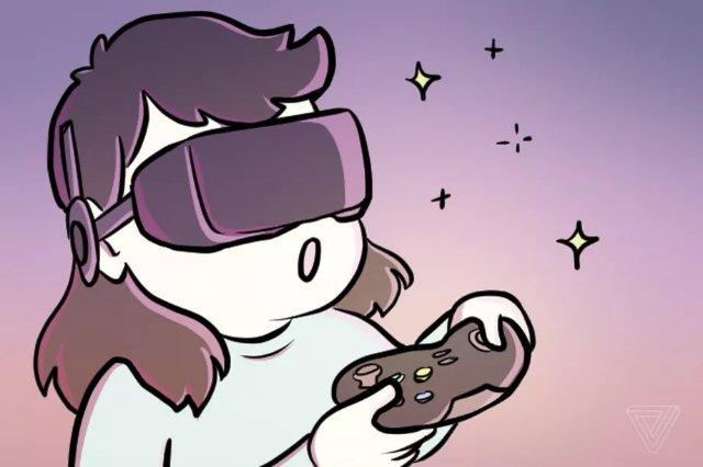Google и LG продемонстрируют чрезвычайно высокий уровень VR-дисплея в мае