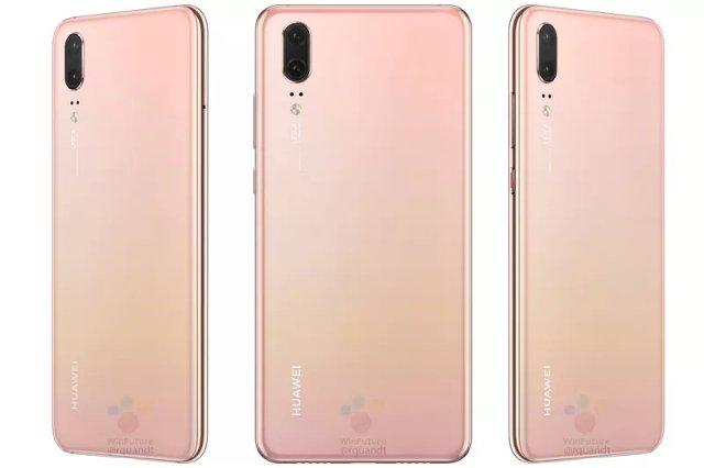 Huawei P20 Pro может иметь один из лучших цветов телефона