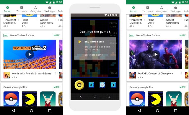 Googlе тестирует видеообъявления в Play Маркете
