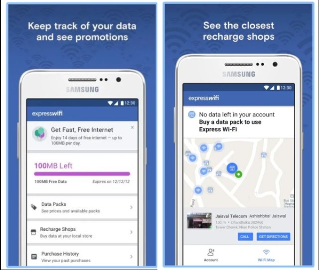 Facebook Express Wi-Fi теперь имеет собственное приложение для Android