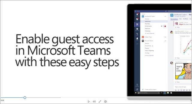 Приложение Microsoft Teams добавляет гостевые аккаунты