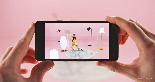 Приложение Ikea Place теперь доступно для последних телефонов Android