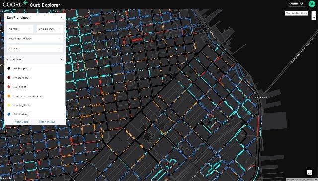 Google Sidewalk Labs сделала карту каждого хорошего места для парковки в Сан-Франциско