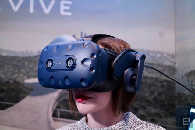 Гарнитура HTC Vive Pro доступна для предварительного заказа за 799 долларов