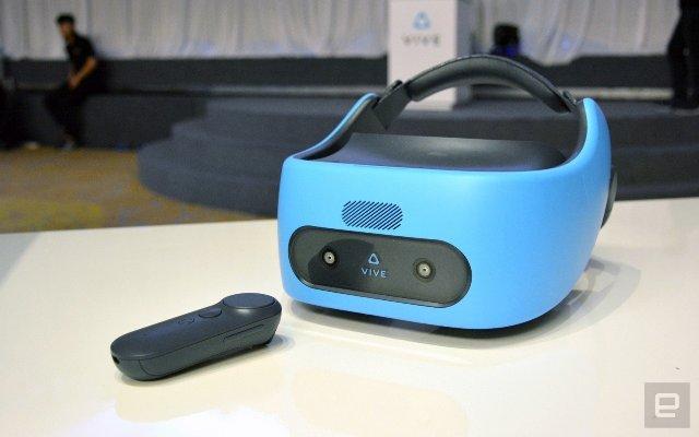 Гарнитура HTC Vive Focus будет доступна за пределами Китая в ближайшее время