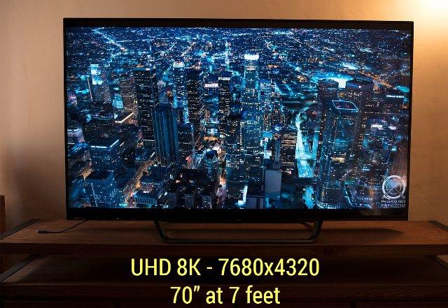 RED и Sharp объединяются с технологией монитора 8K